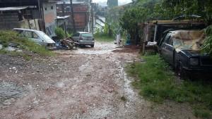 Rua antes da aplicação produto - São Bernardo do Campo