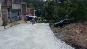 Finalização pó de pedra - São Bernardo do Campo-SP